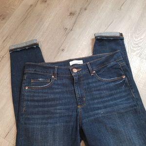 - Loft skinny crop jeans 28 6